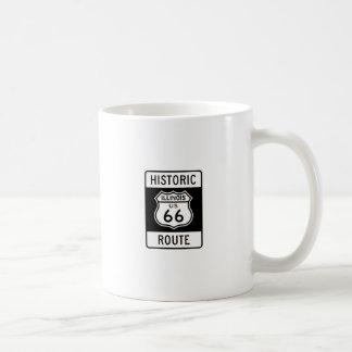 Ruta 66 Illinois de Histric Taza De Café