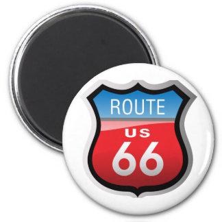 Ruta 66 imán