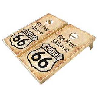 Ruta 66 juego de cornhole