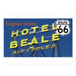 Ruta 66 Kingman Arizona 2 de Beale del hotel Tarjeta Postal