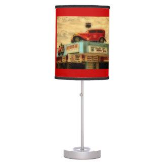 Ruta 66 lámpara de mesa