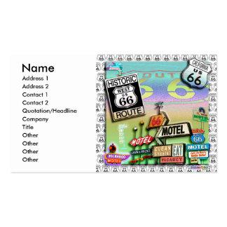 Ruta 66 - Las tarjetas de visita del camino de la