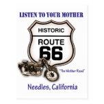 Ruta 66-Listen a sus agujas de la madre Postal