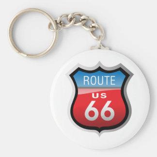 Ruta 66 llavero
