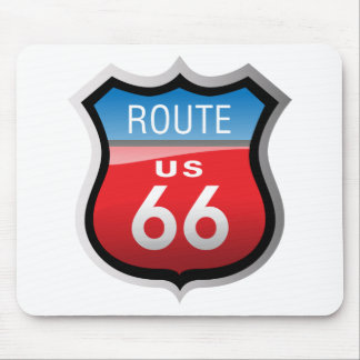 Ruta 66 mouse pads