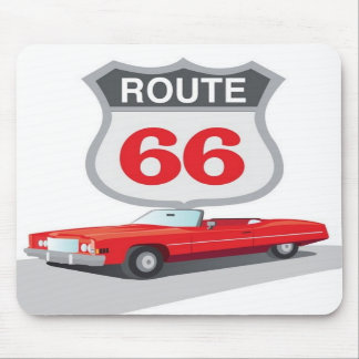 Ruta 66 Mousepad