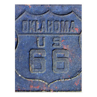 Ruta 66 Oklahoma Postal