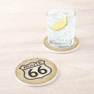 Ruta 66 posavasos cerveza