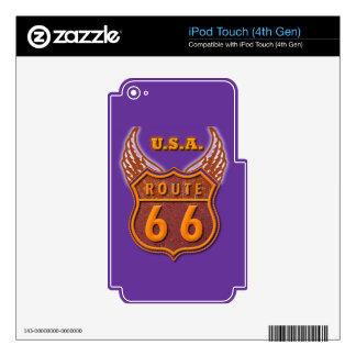Ruta 66 skins para iPod touch 4G