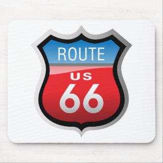 Ruta 66 alfombrillas de ratón