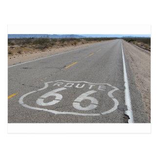 Ruta 66 tarjeta postal