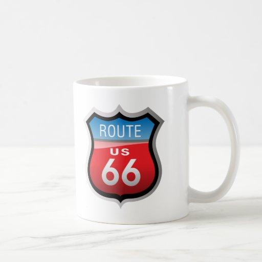 Ruta 66 taza