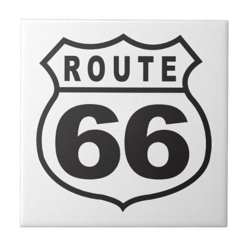 Ruta 66 tejas
