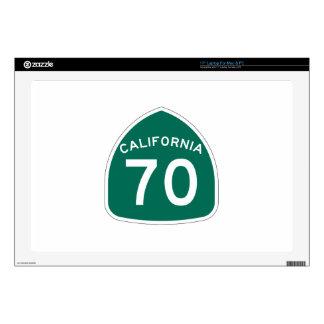 Ruta 70 del estado de California Portátil Skins