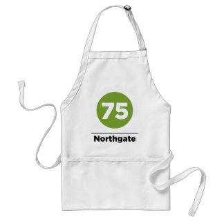 Ruta 75 Northgate Delantal