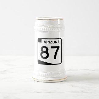 Ruta 87, Arizona, los E.E.U.U. del estado Jarra De Cerveza