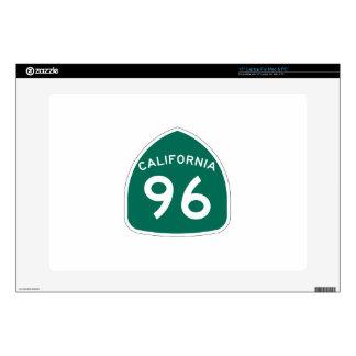 Ruta 96 del estado de California Calcomanías Para Portátiles