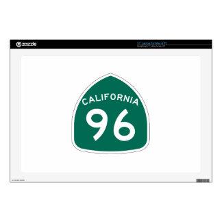 Ruta 96 del estado de California Portátil 43,2cm Skins