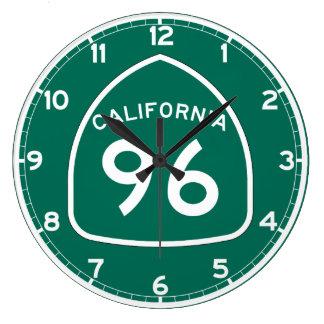 Ruta 96 del estado de California Reloj Redondo Grande
