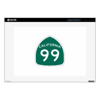 Ruta 99 del estado de California Calcomanías Para Portátiles