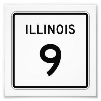 Ruta 9 de Illinois Fotografía