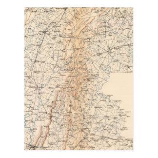 Ruta, campaña de Gettysburg Tarjetas Postales