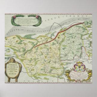 Ruta de Marco Polo Póster