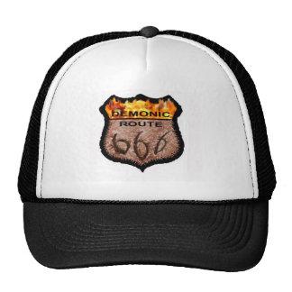 Ruta demoníaca 666 gorra