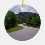 Ruta escénica de la ruta verde azul de Ridge Ornamentos Para Reyes Magos