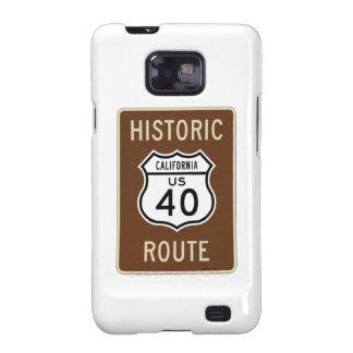 Ruta histórica 40 (California) de los E.E.U.U. de  Galaxy SII Carcasas