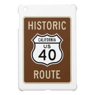 Ruta histórica 40 (California) de los E.E.U.U. de  iPad Mini Cárcasa