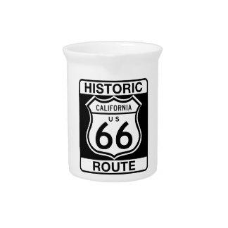 Ruta histórica 66 - California Jarras De Beber