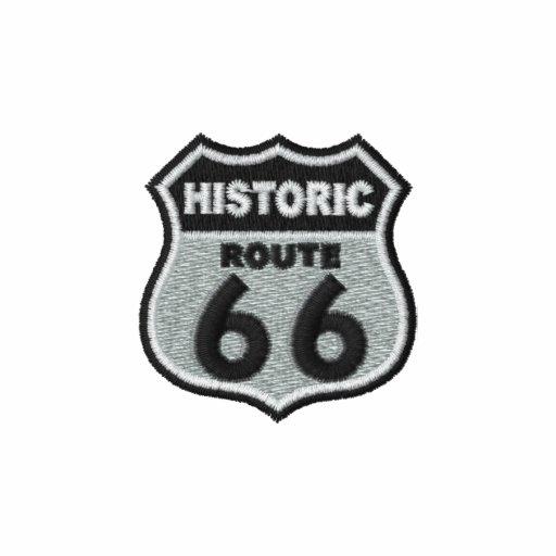 Ruta histórica 66 camiseta polo