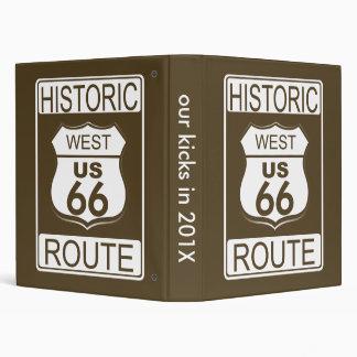 Ruta histórica 66 carpetas del oeste
