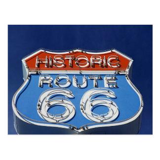 Ruta histórica 66 tarjetas postales
