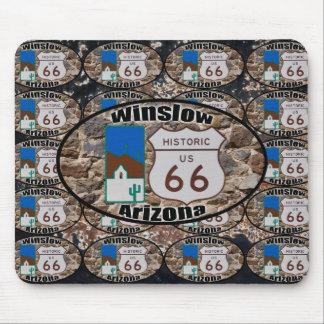 Ruta histórica 66 - Winslow, Arizona Mouse Pad