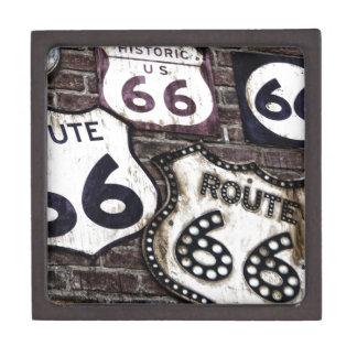 Ruta icónica 66 cajas de joyas de calidad