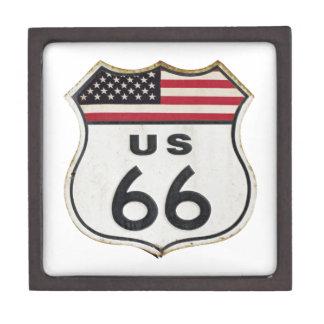 Ruta los E.E.U.U. 66 Cajas De Joyas De Calidad