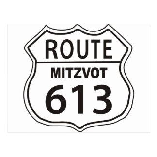 RUTA MITZVOT 613 POSTAL
