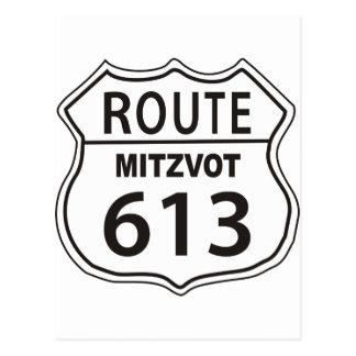 Ruta Mitzvot 613 Postales