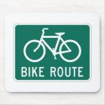 Ruta Mousepad de la bicicleta