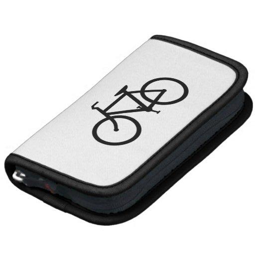 Ruta negra de la bici organizador