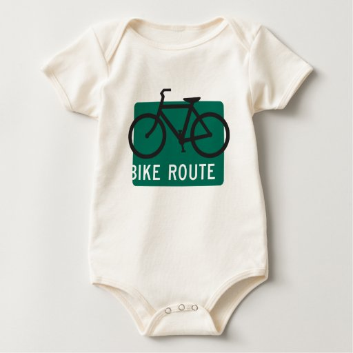 Ruta-Negro de la bici Body Para Bebé