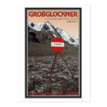 Ruta que sube de Großglockner Tarjetas Postales