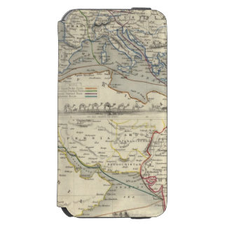 Ruta terrestre a la India Funda Billetera Para iPhone 6 Watson