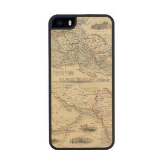 Ruta terrestre a la India Funda De Arce Carved® Para iPhone 5