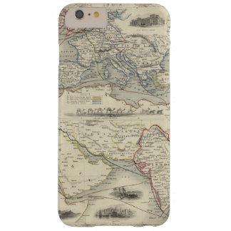 Ruta terrestre a la India Funda Para iPhone 6 Plus Barely There