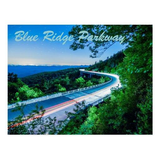 ruta verde azul del canto tarjetas postales