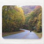 Ruta verde azul Mousepad de Ridge Tapete De Raton