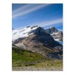 Ruta verde Columbia Icefield Alberta Canadá de Postal
